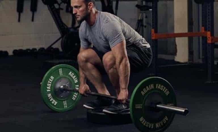 Peso muerto ecn entrenamiento con pesas puntos prácticos Déficit