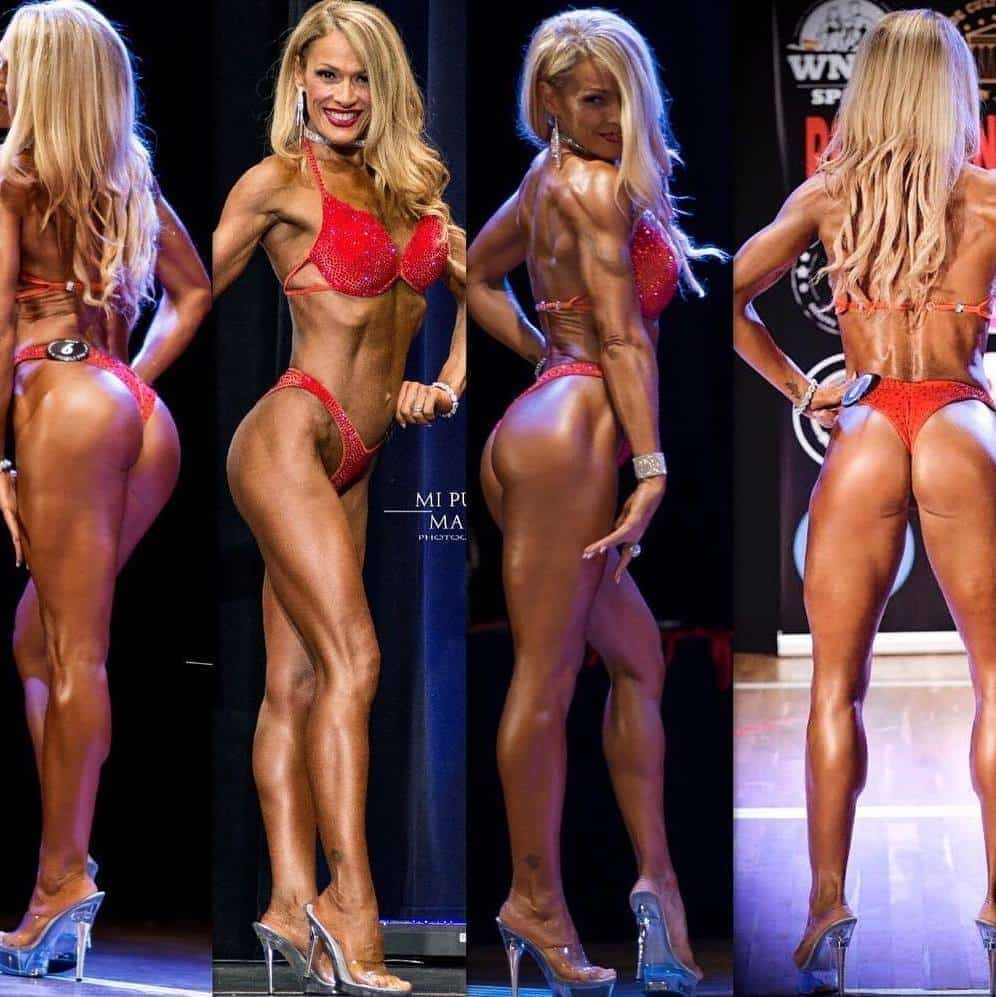 Mónica Pérez la diva del fitness. Campeona de sus categorías a los 47 años. Bikini fitness WNBF 2018