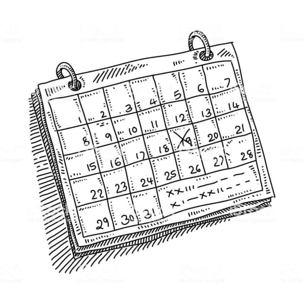 calendario alimentacion