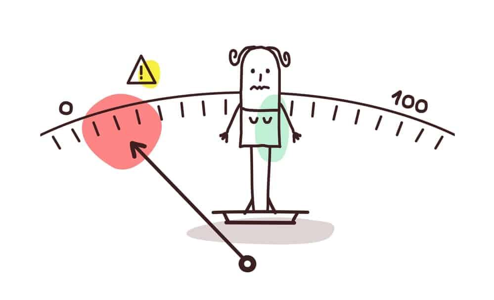 Déficit nutricional y de peso