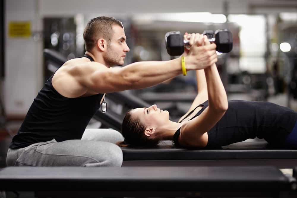 profesionales del fitness