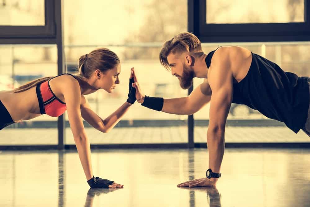 Atleta principiante entrenamiento