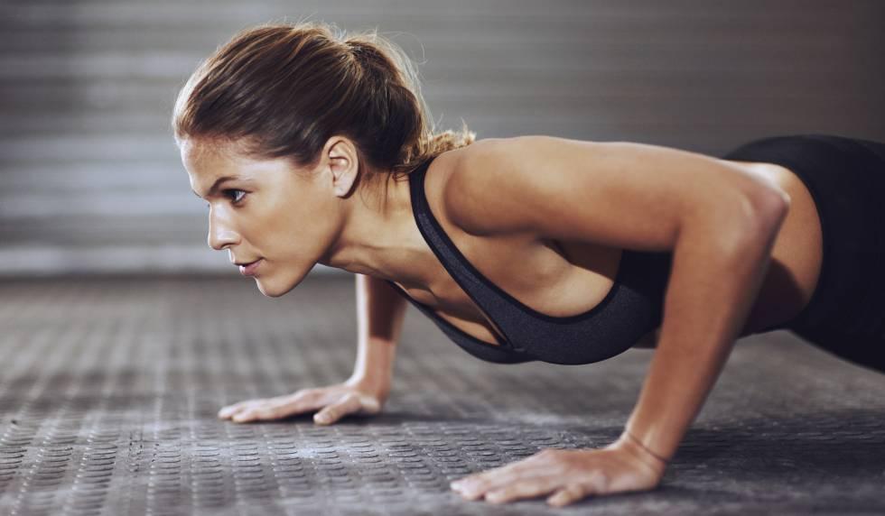 Hacer ejercicio repeticiones