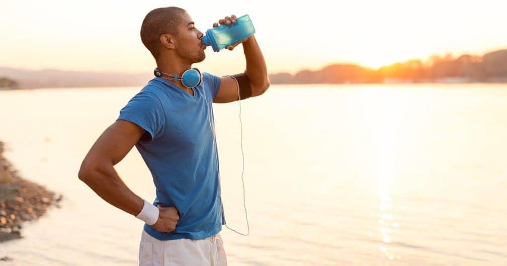 hidratación en el entrenamiento