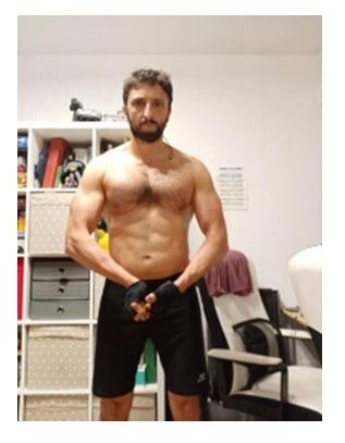 Musculatura ejercicio levantar pesas