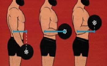 tensión mecánica con pesas