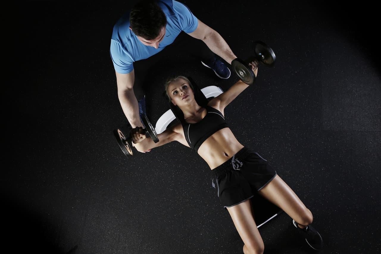formación hacer ejercicio curso de entrenador