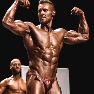 EL MAESTRO ROBERTO AMOROSI campeonato porque elegir ser NATURAL doble bíceps tinte