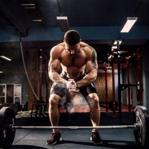 Entrenamiento con pesas