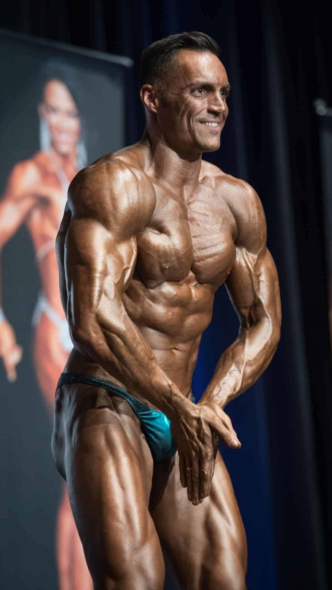 Roberto Amorosi campeonato mundial Los Angeles California culturismo NATURAL