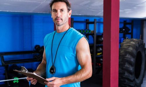 Monitor de sala fitness