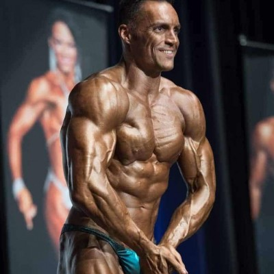 Roberto Amorosi Wnbf mundial 2018 Los Angeles Most Muscular